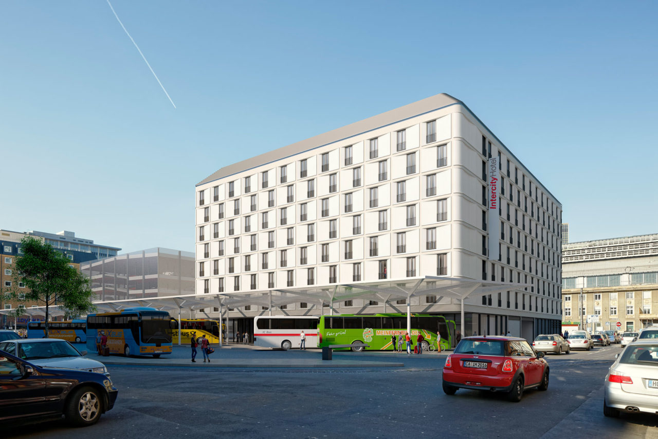 Fernbusbahnhof Frankfurt