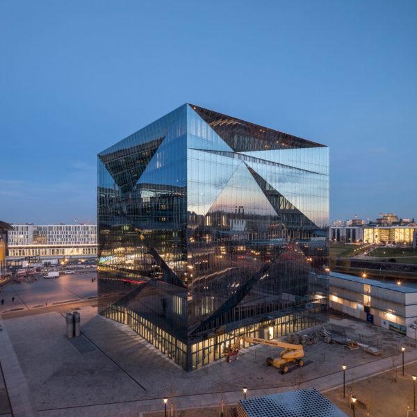 Construction Management Smart Commercial Building cube berlin, Berlin