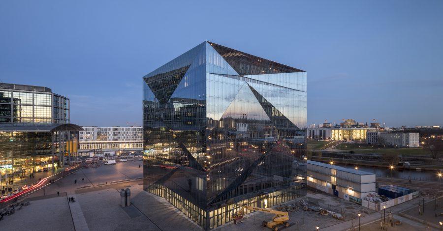 Ansicht Cube, Berlin