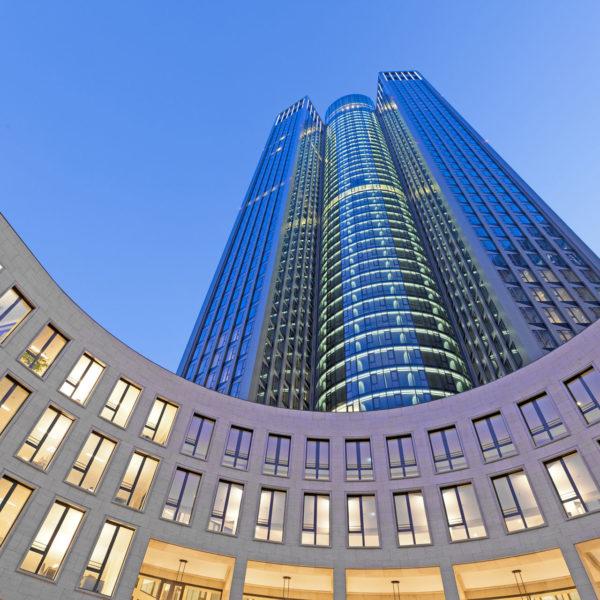 "Construction Management Office Tower ""Tower 185"", Frankfurt"