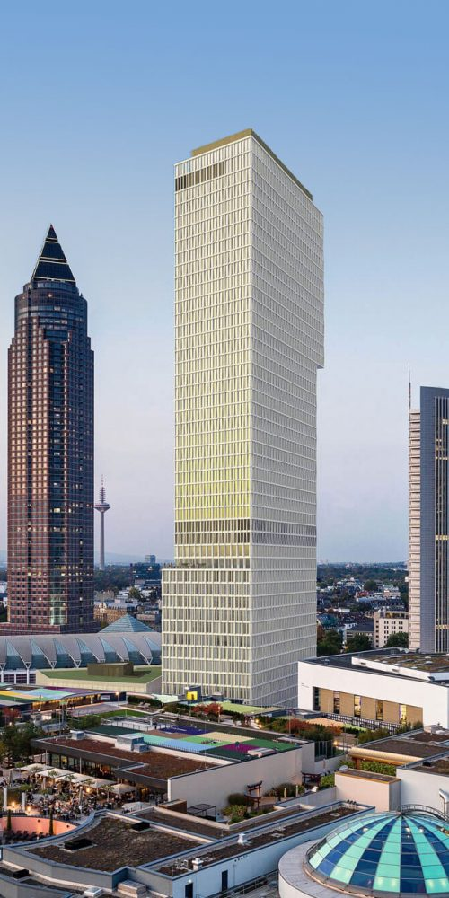 Construction Management Office and Hotel Tower ONE, Frankfurt