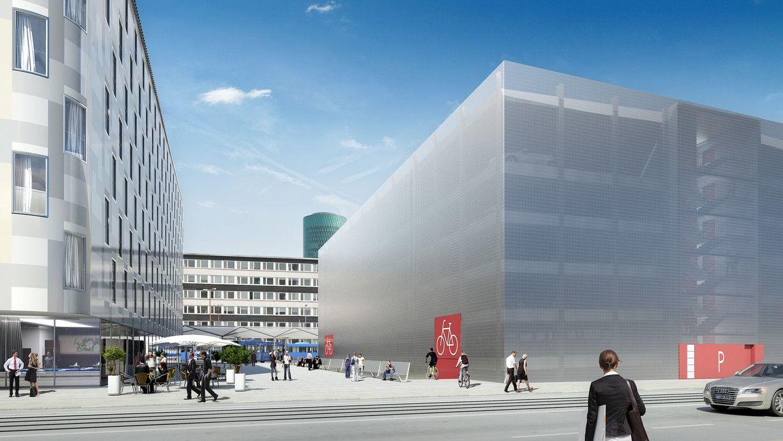 Parkhaus Hauptbahnhof Frankfurt
